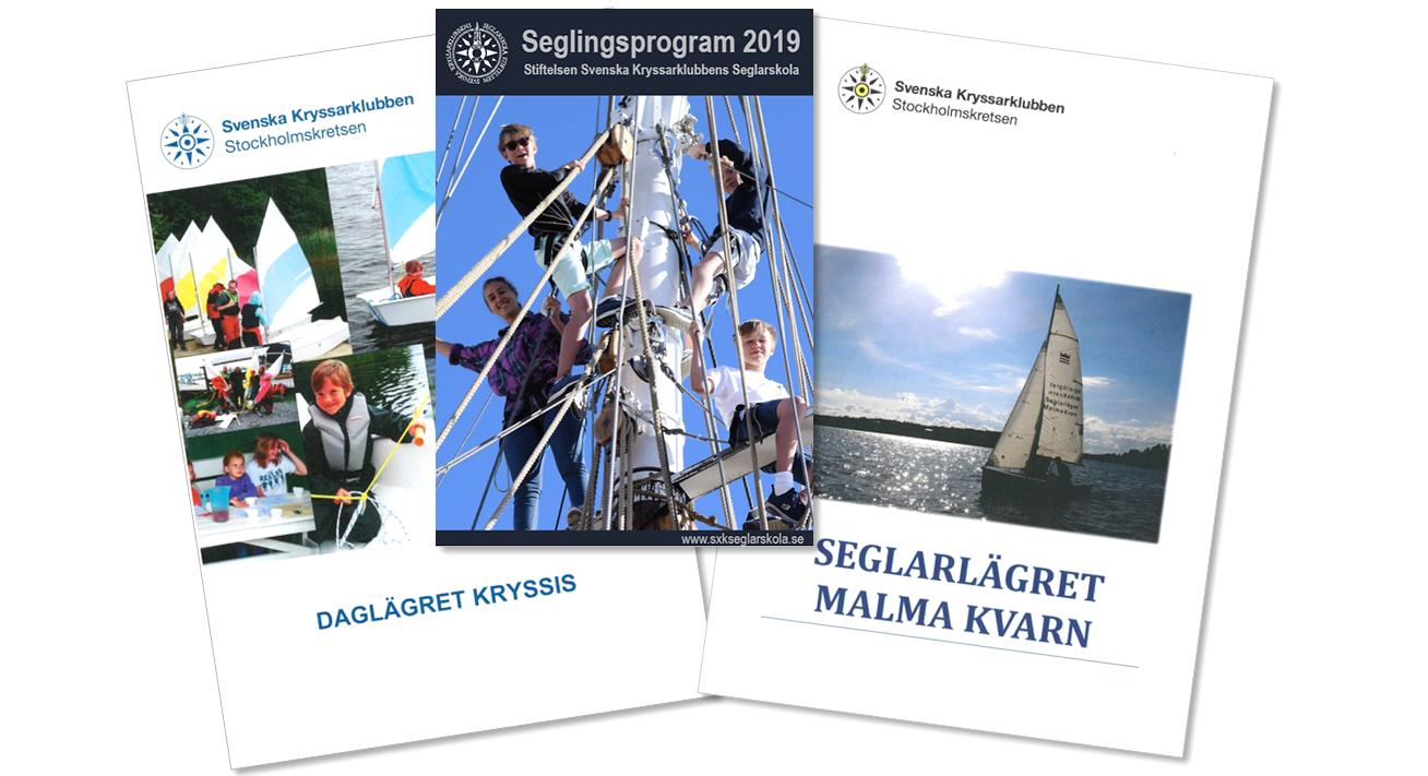 Seglingsprogram sommaren 2019