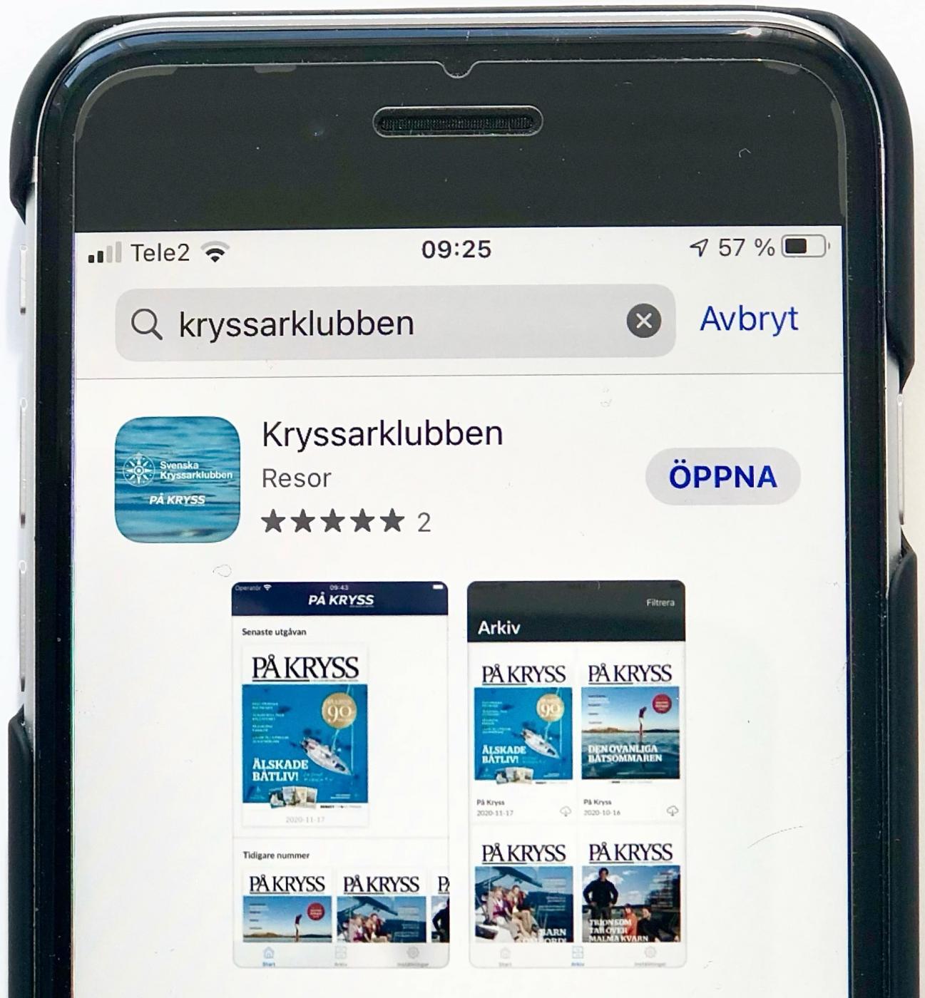 Kryssarklubbs-appen