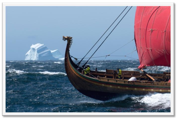 Vikingaskeppet Draken Harald Hårfagre, Björn Ahlander